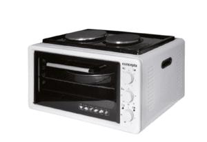 Мини готварска печка Concepta EO 3620, обем 36 л, Бяла, Две нагревателни зони